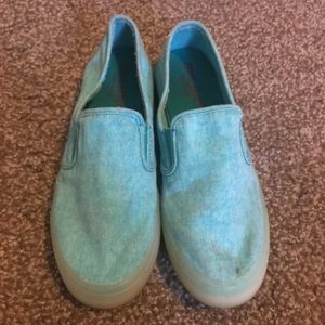 🥿•Sperry Top Sider Light Blue Slip Ons*sz8.5•🥿